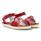 Salt-Water Sandals Red Surfer Sandals