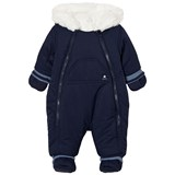 Absorba Navy Fleece Lined Snowsuit