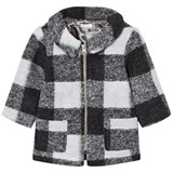 Absorba Grey Check Coat