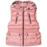 Burberry Pale Rose Maggie Quilted Hooded Gilet