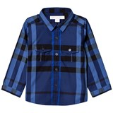 Burberry Blue Check Trent Shirt