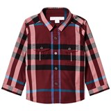 Burberry Red Check Trent Shirt