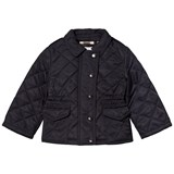 Burberry Navy Mini Neals Quilted Jacket