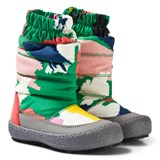 Stella McCartney Kids Multi-colour Camouflage Ski Boots