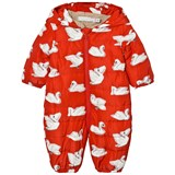 Stella McCartney Kids Red Helmet Print Pramsuit