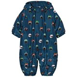 Stella McCartney Kids Navy Helmet Print Pramsuit