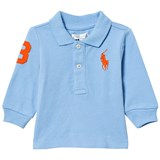 Ralph Lauren Chatham Blue Long-Sleeved Polo