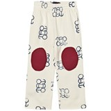 The Animals Observatory Horse Kids Pants White Blue Logo