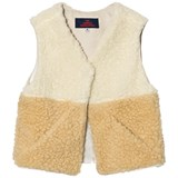The Animals Observatory Lamb Kids Vest Raw White