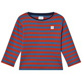Carrément Beau Red and Navy Long Sleeve Tee