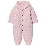 Ralph Lauren Pink Hooded Quilted Jumpsuit