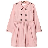 Burberry Pink Lillyana Long Sleeve Trench Dress