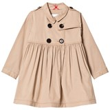 Burberry Honey Lillybeth Long Sleeve Trench Dress