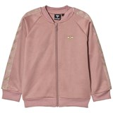 Hummel Kids Olga Zip Jacket Wood Rose