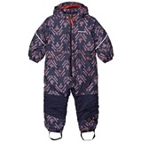 Patagonia Baby Snow Pile One-Piece Riverbird: Paintbrush Red