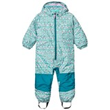 Patagonia Baby Snow Pile One-Piece Sockeye Scales: Strait Blue