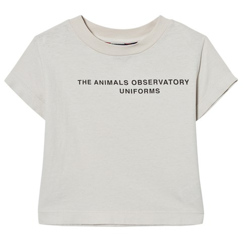 The Animals Observatory White Tao Uniform Rooster Kids T-shirt