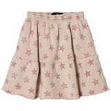 The Animals Observatory Cat Kids Skirt Pink Stars