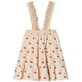 The Animals Observatory Giraffe Kids Skirt Salmon Cherries