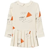 The Animals Observatory Canary Kids Dress White Kites