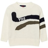 The Animals Observatory White Bull Kids Sweater