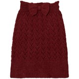 The Animals Observatory Bird Kids Skirt Red Apple