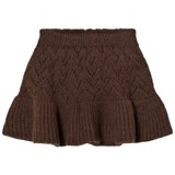 The Animals Observatory Lynx Kids Skirt Deep Brown