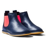 Billieblush Navy Glitter Back Chelsea Boot