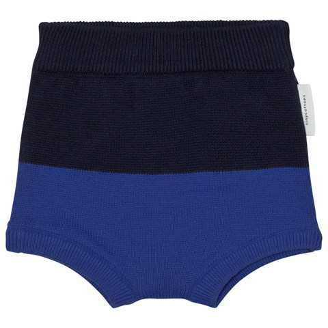 Tinycottons Dark Navy Blue Colour Block Baby Bloomer
