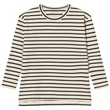 Tinycottons Stripes Tee Beige/Black