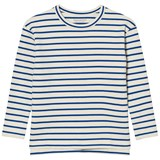 Tinycottons Stripes Tee Beige/Blue