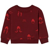 Tinycottons Bordeaux No-Worry Dolls Fleece Sweatshirt