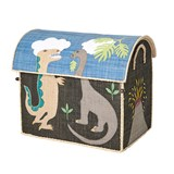 RICE A/S Foldable Toy Basket Dino Large