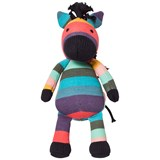 Paul Smith Junior Multi Stripe Zebra Toy