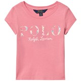 Ralph Lauren Rugby Pink Short-Sleeved Polo Graphic Tee