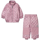 Mikk-Line Lavender Fleece Thermo Set