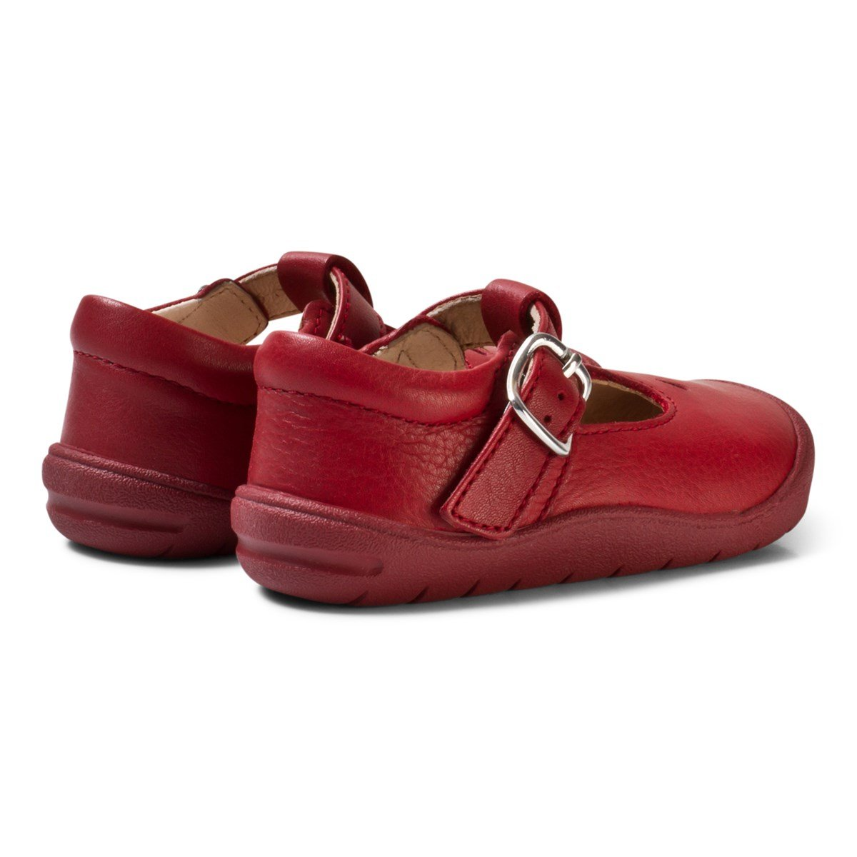 655d6b36d2d4f Start-rite Red and Silver Leather Evy First Steps Shoes | AlexandAlexa