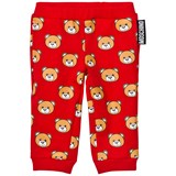 Moschino Red Bear Print Sweatpants