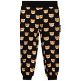 Moschino Black All Over Bear Print Sweatpants