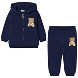 Moschino Navy Bear Print Tracksuit