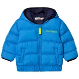 Billybandit Blue Hooded Puffer Coat