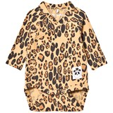 Mini Rodini Leopard Print Wrap Body