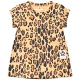 Mini Rodini Leopard Print Basic Dress