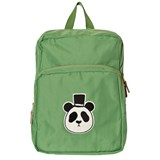 Mini Rodini Green Panda Backpack