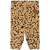 Mini Rodini Beige Fleece Spot Trousers