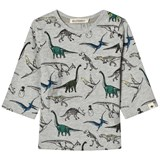 Billybandit Grey Multi All Over Print Dinosaur Tee