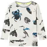 Billybandit White All-Over Bug Print T-Shirt