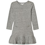 Chloé Grey Jersey Long Sleeve Dress