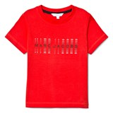 Little Marc Jacobs Red Branded Tee