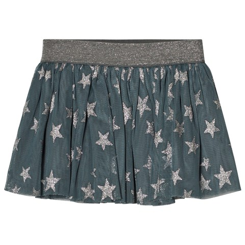 Stella McCartney Kids Blue Stars Print Hone Skirt